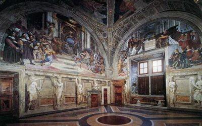 Las Estancias de Rafael del Palacio Apostólico en el Vaticano
