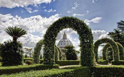 Los Jardines Vaticanos de la Ciudad del Vaticano
